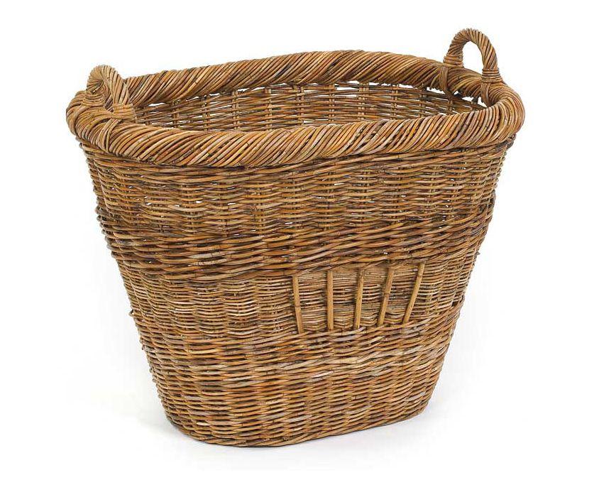 Extra Large Rattan Basket