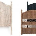 Wicker Headboards in Various Colors
