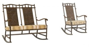 Chatham Run Outdoor Double and Single Rocker
