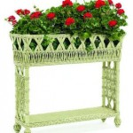 Modern Wicker Planter Options