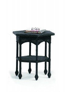 Hexagonal Wicker Table