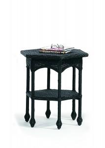 Hexagonal Wicker Table