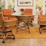 Relaxing Dining with Rattan Furniture