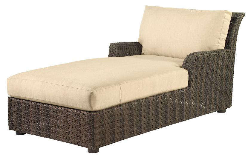 Aruba Outdoor Wicker Chaise Lounge