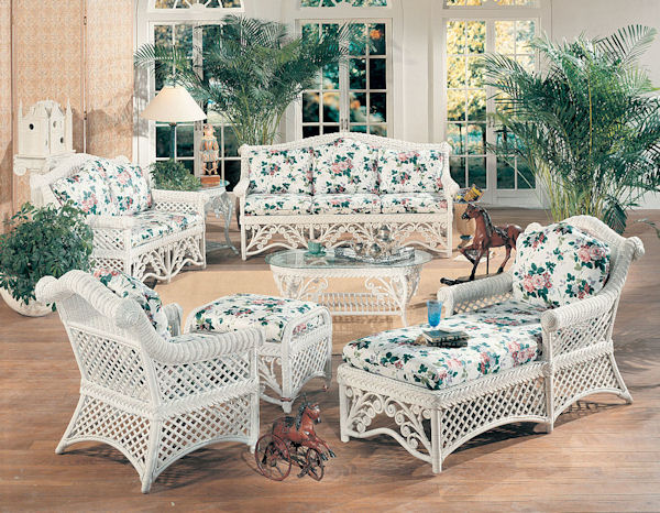 Gazebo Victorian Wicker Furniture
