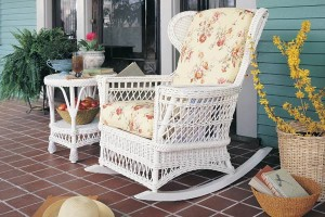 Concord Wicker Rocking Chair