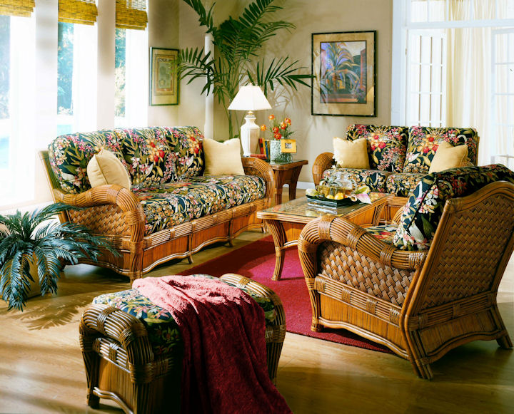 Exotic Touches – Tropical and Eastern Style