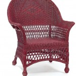 Defining Art Deco Spaces With Wicker