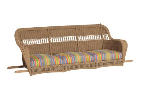 Resin Outdoor Wicker Sofa Swing