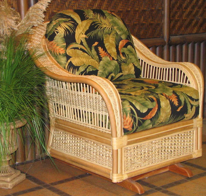 Get the Island Look with Wicker Headboards