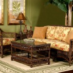 Working Wicker Into Craftsman Decor