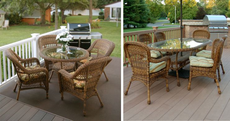 Sanibel Resin Wicker Dining Sets