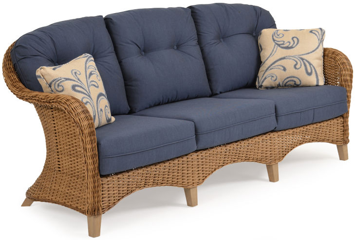 Savannah Resin Outdoor Wicker Sofa