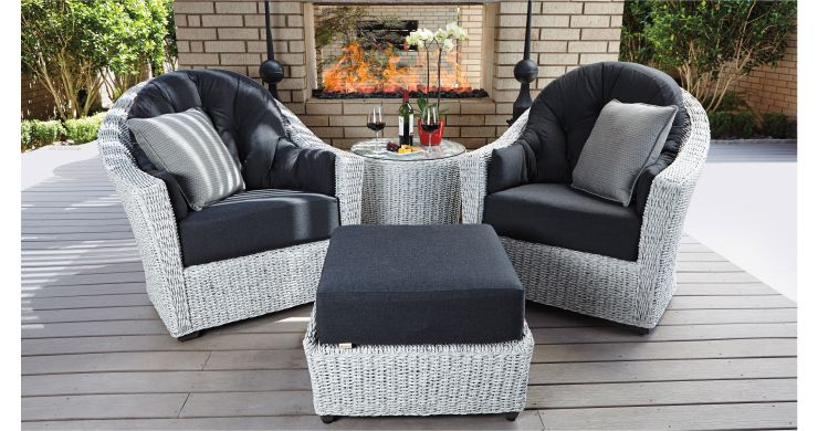 Get Cozy with Patio Conversation Groupings