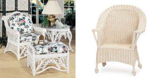 New Wicker vs Old Chair Comparison