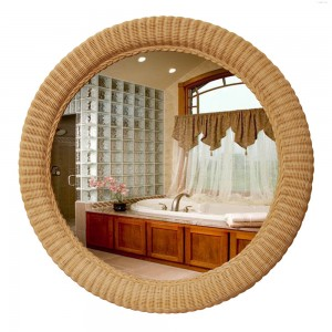 Decorating With Wicker In Powder Rooms