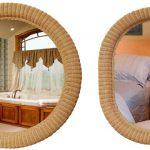 Wicker Mirrors