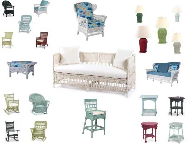 Coastal Wicker Furniture