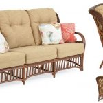 Hana Indoor Rattan Sunroom Sofa