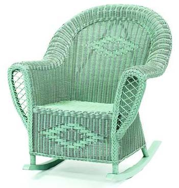 Heirloom Wicker Rocking Chair