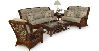 Seating Fit for a King, Rattan Sunroom Furniture