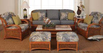 Lucia Indoor Rattan Wicker Sunroom Furniture