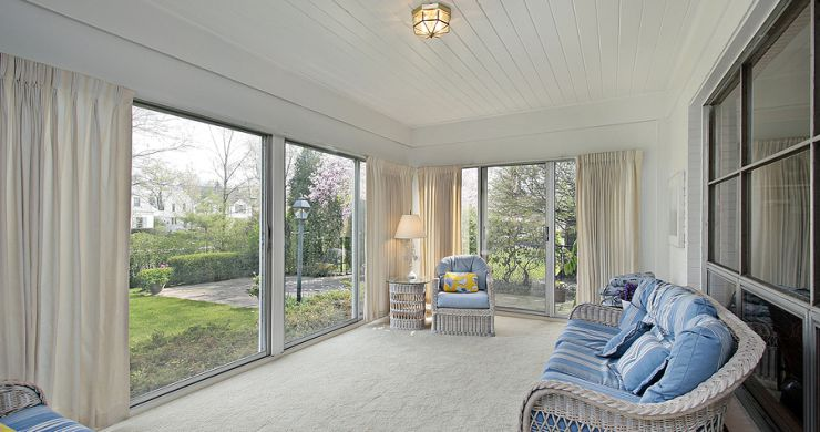 Window Treatments for Your Sunroom