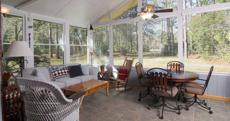 Furnishing a Sunroom