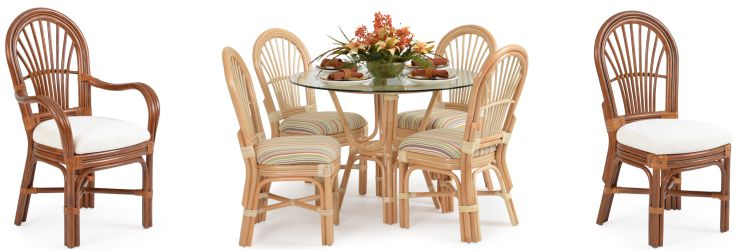 Hana Rattan Dining Set