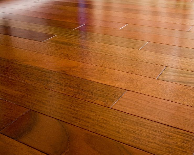 Hardwood Flooring with Brazilia Cherry Wood