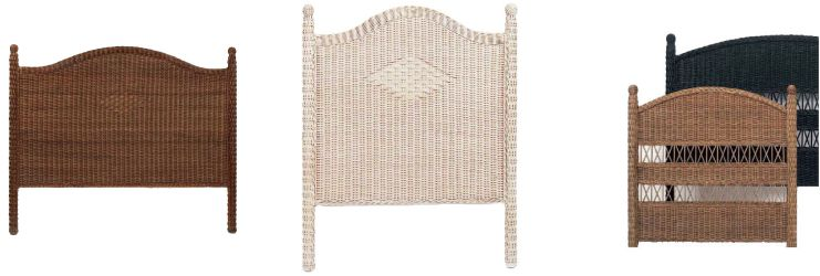 Wicker Headboards