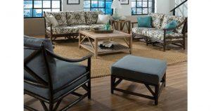 Indoor Rattan Furniture Set Minimalist Look