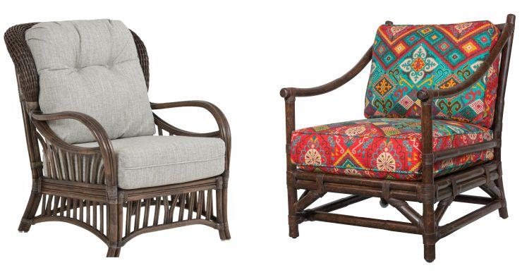 Indoor Rattan Lounge Chairs