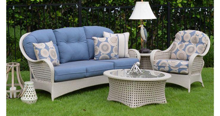 Susannah Outdoor Wicker Furniture Set